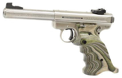 341 green laminated wood grips