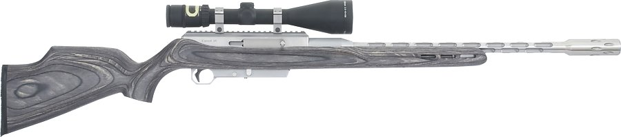 124 evolution gray stock w i flutes w trijicon scope