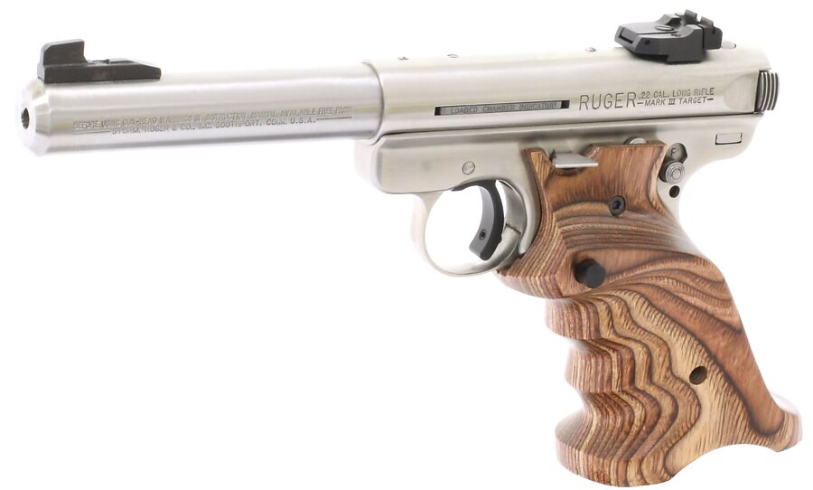 360 brown laminated wood grips