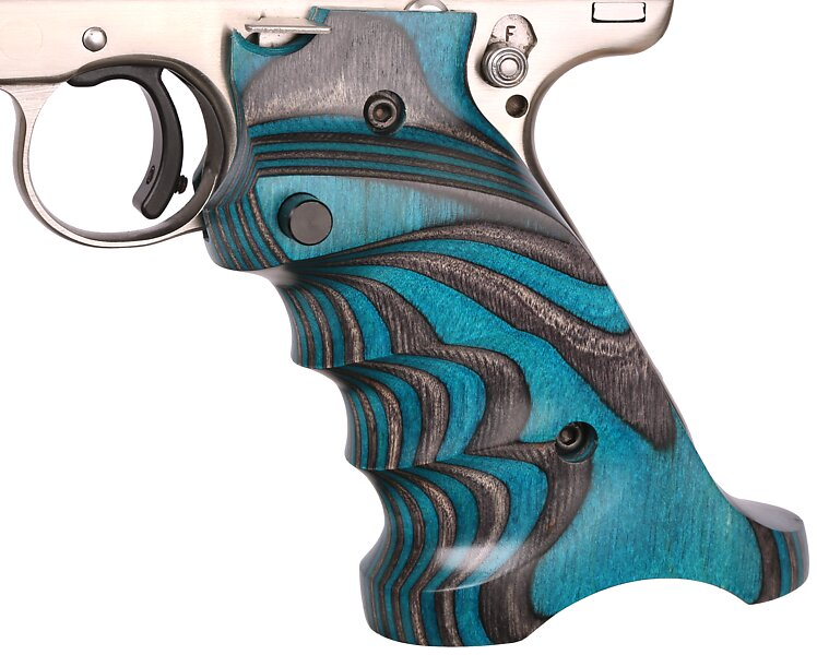 678 turquoise grips
