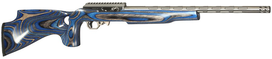 698 if 5 with blue laminated thumbhole silhouette