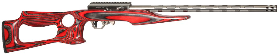 708 if 5 with red laminated lightweight thumbhole